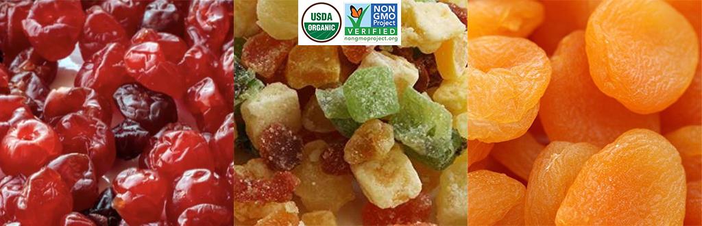 Dried Fruits - Organic