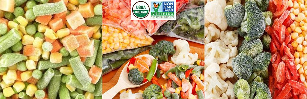 Frozen Veggies - Organic